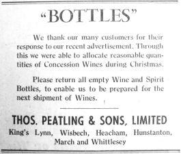 1947 Jan 28th Peatlings