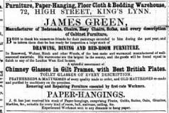 1857 April 11th James Green @ No 72