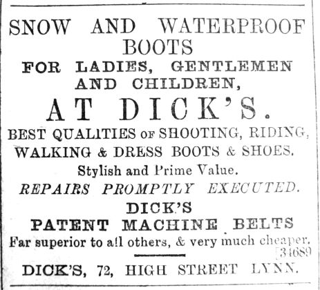 1890 Jan 18th Dicks