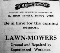 1927 Feb 11th W M Couperthwaite