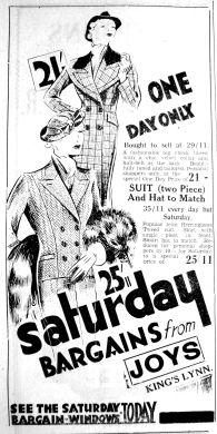 1935 Oct 4th Joys