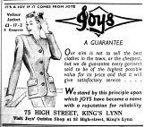 1947 Jan 28th Joys