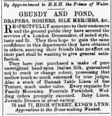 1876 Jan 8th Grundy & Pond @ 76 & 77