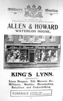 1907 Guide Allen & Howard @ Waterloo House 01