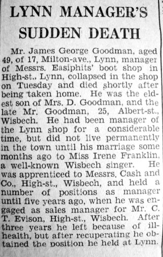 1941 Nov 28th obit James Goodwin mgr Easiphit