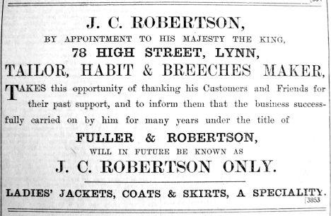 1902 Feb 21st J C Robertson