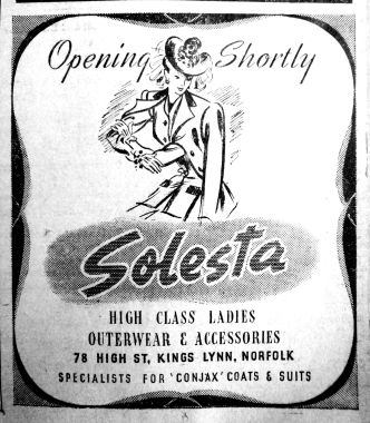 1946 Aug 30th Solesta opening