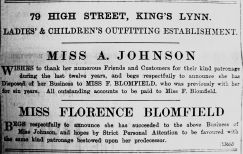 1904 Feb 26th Florence Blomfield takes over