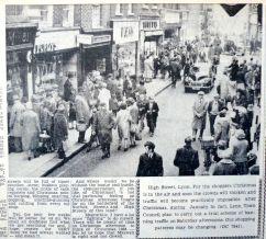 1964 Nov 27th High Street closure plan No 79 (Eastern Daily Press)