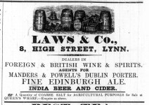 1842 Jan 4th Laws & Co @ No 8