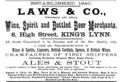 1883 Laws & Co