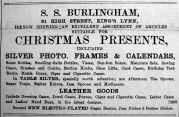 1903 Nov 20th S S Burlingham