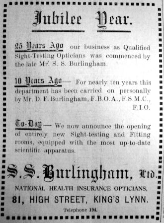 1935 May 3rd S S Burlingham