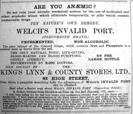 1901 Mar 15th KL & County Stores