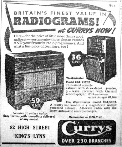 1951 Oct 5th Currys