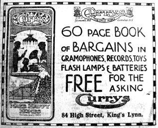 1923 Nov 23rd Currys