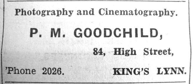 1937 May 21st P M Goodchild