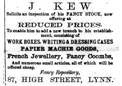 1872 Feb 24th J Kew