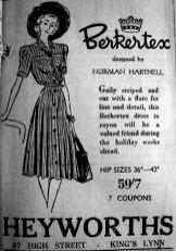 1947 July 3rd Heyworths