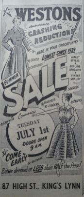 1952 June 27th Westons 2