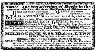 1869 28th Aug Milbourne