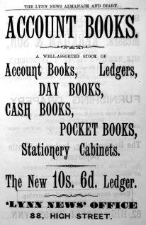 1883 Lynn News Almanack