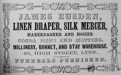 1856 Directory James Eusden (Lynn Forums)