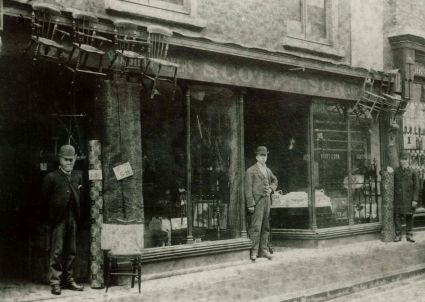 1892 approx No 89 High Street Scott & Son