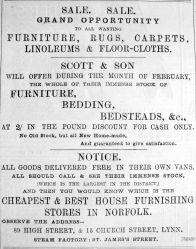 1893 Mar 4th Scott & Son