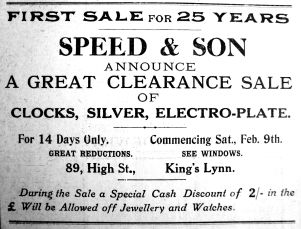 1929 Feb 8th Speed & Son