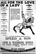 1930 Oct 31st Speed & Son