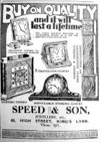 1933 Oct 13th Speed & Son