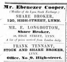 1845 Nov 1st Frank Tennant @ No 9