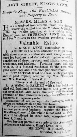 1890 May 31st For Sale