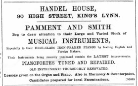 1892 December 31st Pamment & Smith @ No 90