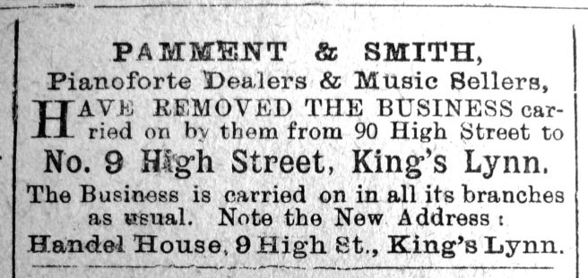 1910 Dec 30th Pamment & Smith Move Out cont