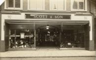 1927 Scotts new shopfront at Nos 91 & 92