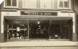 1927 Scotts new shopfront at Nos 91 & 92