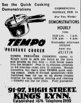 1949 Feb 11th Tempo (part ad)
