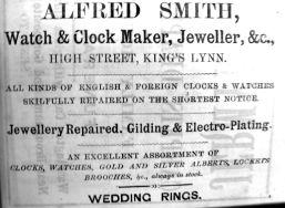 1884 Lynn News Almanack Alfred Smith