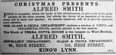 1889 Dec 14th Alfred Smith