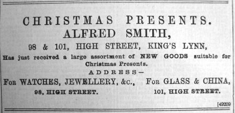 1891 Dec 12th Alfred Smith