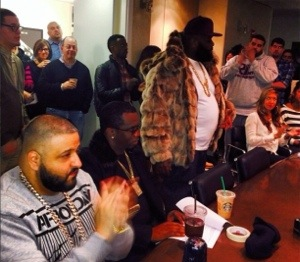 """Def Jam Building Full as Rick Ross Delivers """"MasterPiece"""" to the Label"""