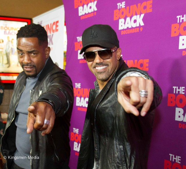 Bill Bellamy and Shemar Moore