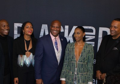 Black and Blue Screening with Tyrese, Naomie Harris, and Nafessa Williams