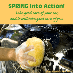 Spring Into Action - Regular Maintenance on Your Vehicle Is Money Well Spent