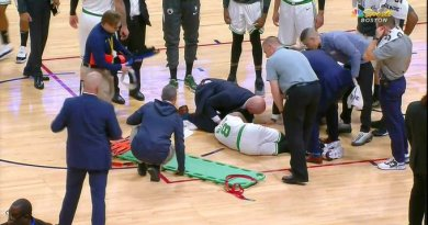 Video: Kemba Walker Collapsed On The Court And Was Carried Out On A Stretcher