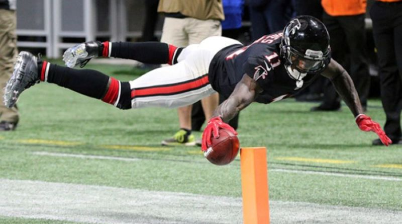 New England Patriots Are Currently The Favorite To Land Julio Jones In A Trade