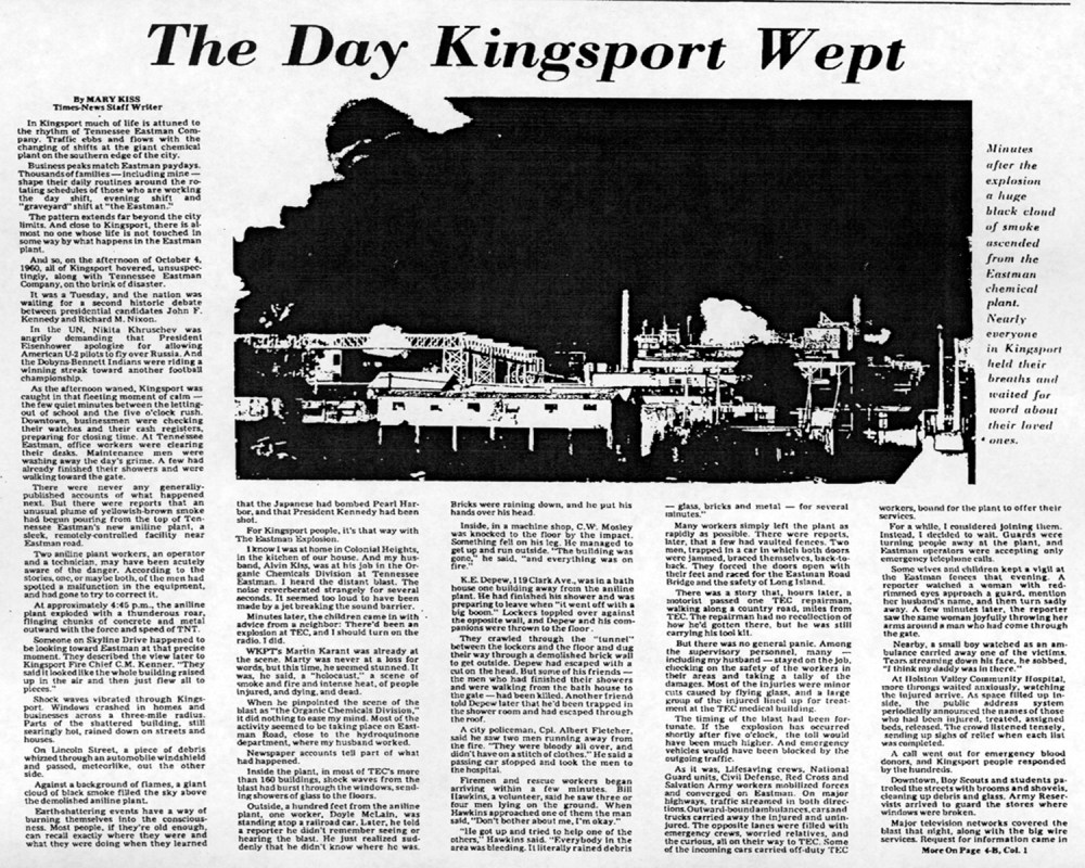 The Day Kingsport Wept-Eastman Explosion October 4, 1960 (1/5)
