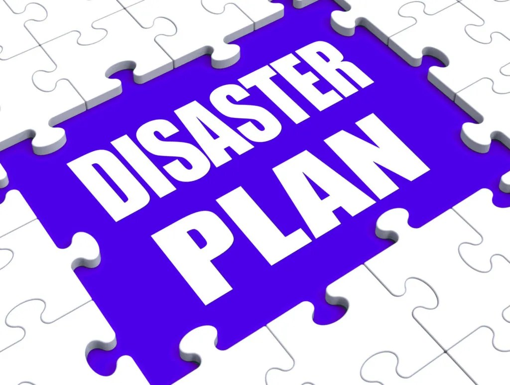 Disaster Plans Recovery for your website and database